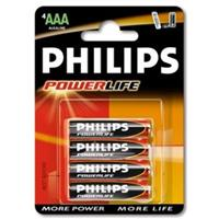 Bateria POWER Alkaline LR03/B4 ! blister Philips
