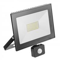 Reflektor LED 50W +czuj. 4000K czar.IP65 IN 019661